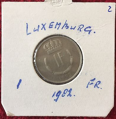 Luxemburg Luxembourg 1 Francs 1982