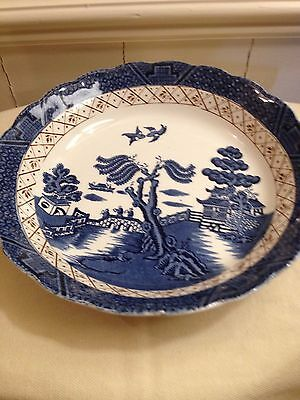 Vintage Booths Real Old Willow Made In England Bowl