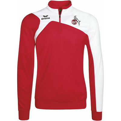 Erima 1. FC Köln Trainingstop Herren 2017/2018 Zip Sweatshirt FC Training