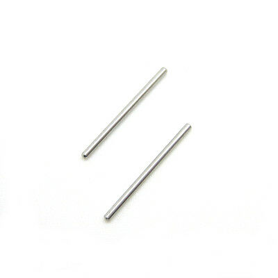 2 x Retaining Pins Bars Fits SWATCH 17mm/20mm Plastic Watch Straps [GENTS SIZE]