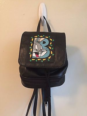 Vintage Bugs Bunny Loony Tunes Mini Backpack - Clubkid 90's Festival Goth
