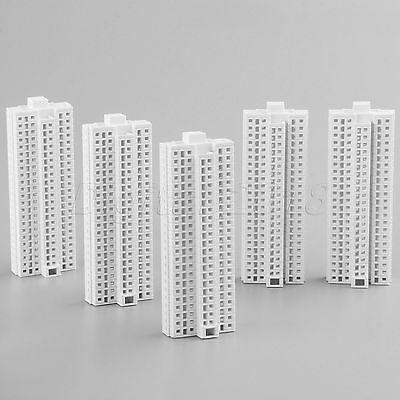 Outland Models Railway Modern Tall Business White Building Office HO Scale