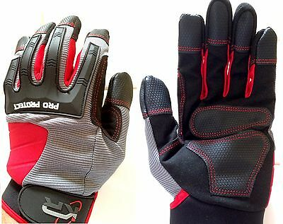 IKR PRO SERIES MECHANIC GLOVES / SAFETY GLOVES / WORKING GLOVES  Size M  L  XL
