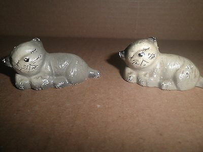 Wonderful old original cast iron Kittens - Cats Paperweight by Hubley c.1930