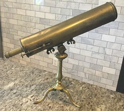Antique 18th Century Jean Baptiste Gonichon French Reflecting Telescope