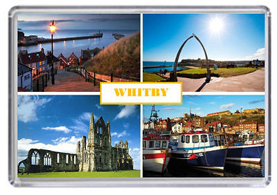 Whitby, Yorkshire Engalnd Fridge Magnet 03
