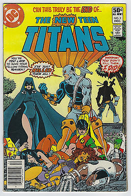 New Teen Titans #2 (1980, DC) 1st App Deathstroke, Wolfman, George Perez, F/F+