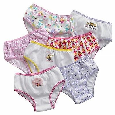 Despicable Me Little Girls' Minions 7 Pack Underwear Panties