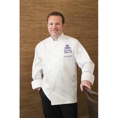 Chef Works Carlton Chef Coat Jacket - White - All Sizes