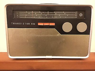 Very rare Robin Day design Pye 444 cruiser vintage radio Hille Dieter Rams era
