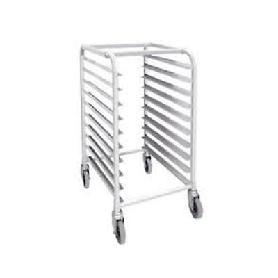 Winco - ALRK-10 - 10-Tier Aluminum Bun Sheet Pan Rack
