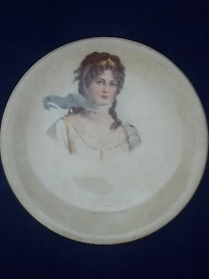 Vintage Collectible Semi-Porcelain Advertising Plate Confectionary New Boston TX