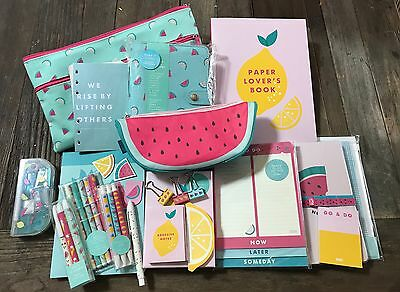 Kikki K 2016 Cute Lot !! Personal Planner! Pens! Sticky Notes! Paper Lovers Book