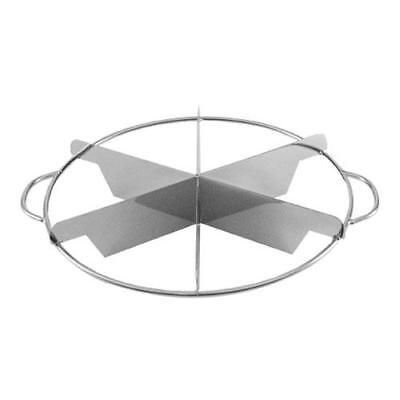 Johnson Rose - 6316 - 6 Slice Stainless Steel Pie Cutter