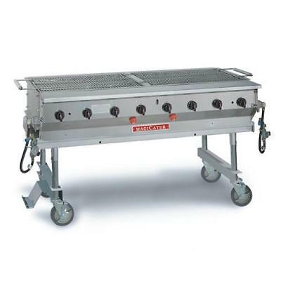 "MagiKitch'n - MCSS-60 - 60"" Magicater Stainless Steel Portable Outdoor LP Grill"