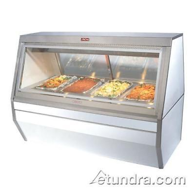 Howard McCray - CHS35-4 - 3-Well White Hot Food Case