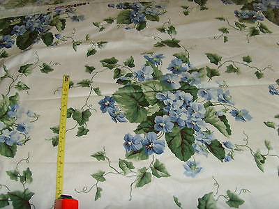 Waverly My Favorite Things Violets fabric material upholstery weight sewing chic