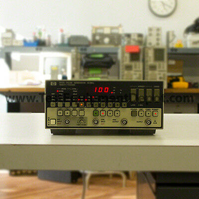 HP Agilent 8112A 50 MHz Programmable Pulse Generator, 5ns, Tested GOOD