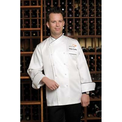 Chef Works Monte Carlo Chef Coat Jacket - White - All Sizes
