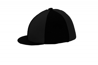 Hy Black Riding Hat Silk Cover