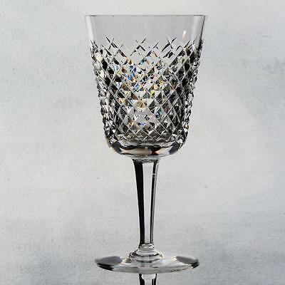 """Waterford Set Of Four """"alana"""" Water/wine Goblets"""