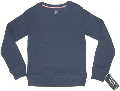 French Toast Boy's School Uniform V Neck Knit Sweater NWT  Sizes M 8 or L 10/12