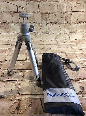 Sunpak Platinum Plus Miniature Mini D expandable rotating Tripod with carry bag
