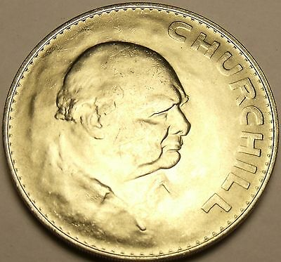 Great Britain 1965 Crown Unc~Winston Churchill~Free Shipping