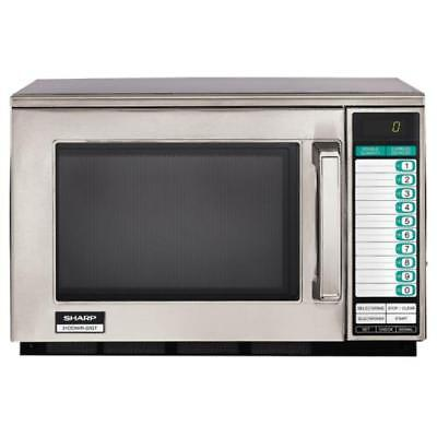 Sharp - R-22GTF - 1200 Watt Commercial Microwave Oven
