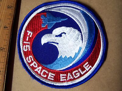 USAF F-15 Space Eagle Patch