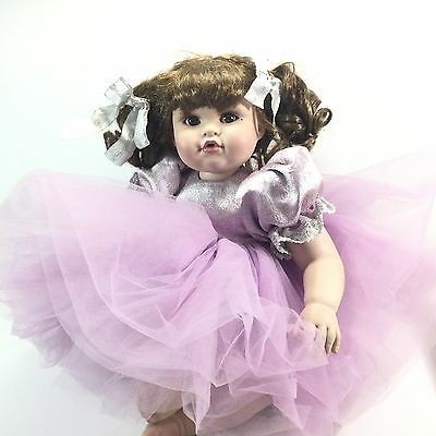 Marie Osmond Baby Abby Lots of Lavender Doll Limited Edition Number 38 of 300