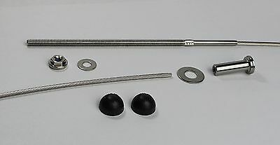 """1/8"""" VistaView Stainless Steel Cable Railing Long Kits for 4x4 and 6x6 Posts"""