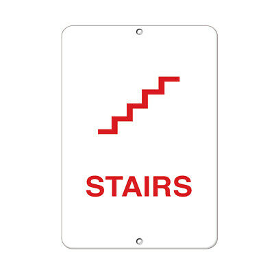 Stairway Business Sign Stair Signs Aluminum METAL Sign