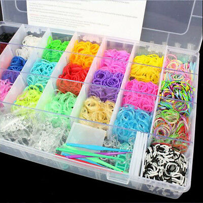 New Plastic Clear Jewelry Bead Organizer Box Storage Container Case Craft  Tool