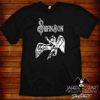 Ron Swanson T-shirt (Led Zeppelin mashup) Parks and Recreation rec