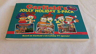 : Garfield's Jolly Holiday Pack by Jim Davis (1997, Paperback) MINT