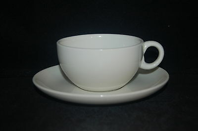 Iroquois Casual White Cup and Saucer