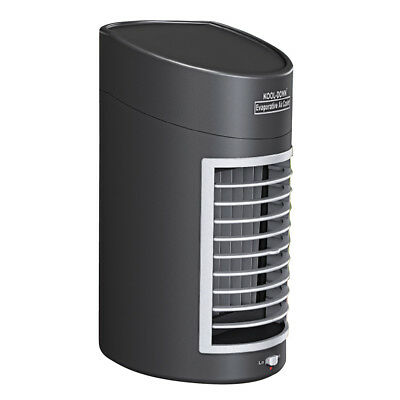 Kool Down Evaporative Cooling Fan, Black, by Collections Etc