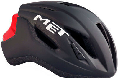 MET Strale Road Bike Helmet Black/Red