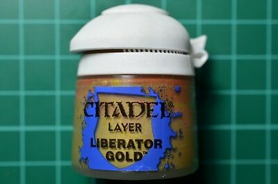 Warhammer-Games workshop-Peinture-Layer Liberator gold