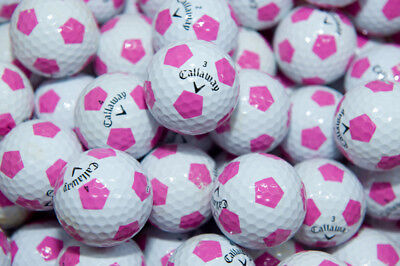 50 Callaway Chrome Soft with Purple TRUVIS Golf Balls ## Clearance SALE ##