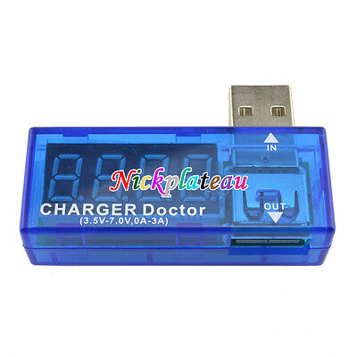 USB Charger Doctor Voltage Current Meter Mobile Battery Tester Power Detector M