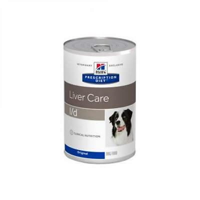 HILL S prescription diet  l/d canine hepatic healt mangime umido 12 lattinex370