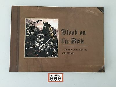 Warhammer Fantasy Blood On The Reik A Journey Through The Old World Art Book