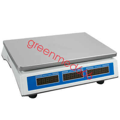 110V USA Scale Food Price Digital Computing Produce Meat Deli Weight Counting