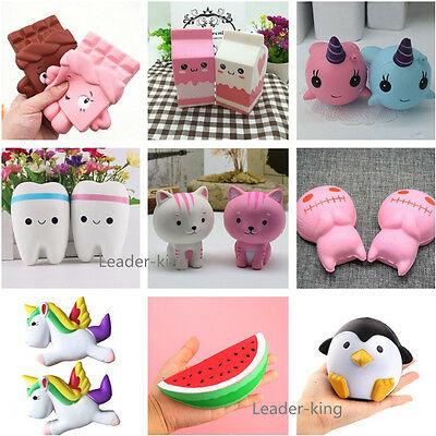 Squishy Squeeze Scented Slow Rising Relieve Stress Collection Doll Toy Kids Gift