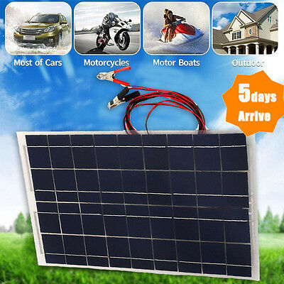 High Effciency 30W 12V Solar Panel Poly Module Marine Trooling 30 Watts