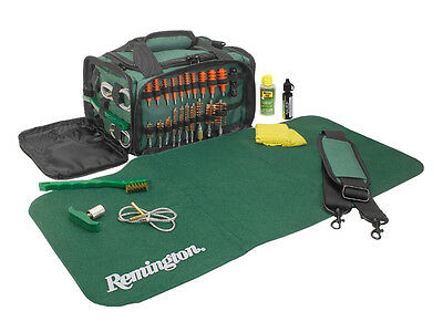 Remington Squeeg-E Universal Shotgun Cleaning Kit W/Green Carry Case
