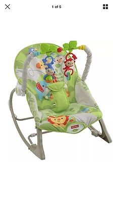 Fisher Price Rainforest Baby Infant Rocking Chair