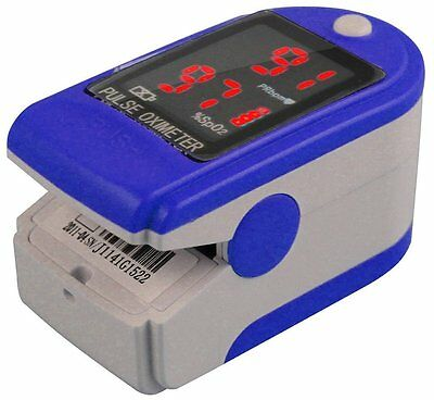 BIOSYNC Finger Pulse Oximeter SPO2 & Heart Rate Monitor